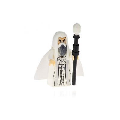 Mini Figurine NEW Fits The Lord Of theRings / Hobbit  SARUMAN