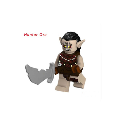 Mini Figurine NEW Fits The Lord Of theRings / Hobbit  HUNTER ORC