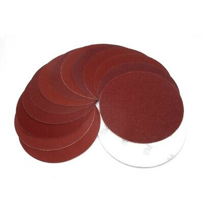 6 Inch(150mm) Dry Sandpaper Hook&Loop Sanding Discs 60#-2000# Grit Car Polishing