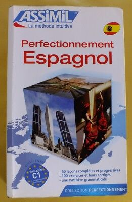 Assimil Perfectionnement Espagnol Using Spanish French Francisco Martinez