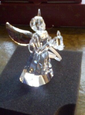 Swarovski Christmas Angel Annual 2017 Ornament New And Boxed