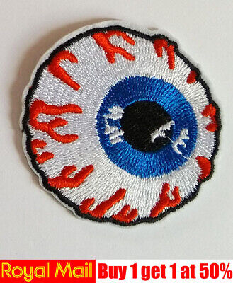Eye ball Patch Iron on sew On patch