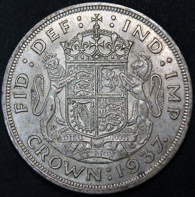 1937 | George VI One Crown | Silver | Coins | KM Coins