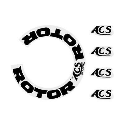 old school bmx decals stickers acs rotor 45 stem black on clear