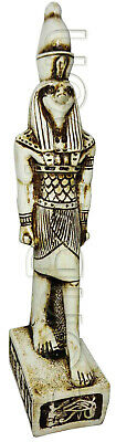 "Egyptian King Horus Pharaoh Figurine Statue Ancient Goddess 9"" Sculpture 201"