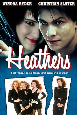 Heathers:Movie Poster:Laminated:A4:!!!!Buy 2 Get 3 FREE!!!!!!!