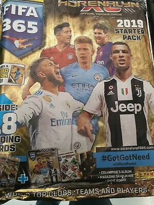Panini Fifa 365 Adrenalyn Xl 2019 Trading Card Starter Pack Limited Edition Card