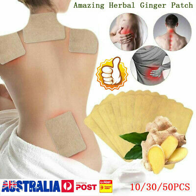 50pcs Amazing Natural Herbal Ginger Patch Wholesale 2019 New LG