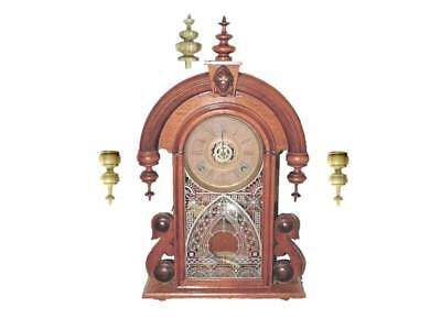 Wooden clock finials for Ansonia model Parisian