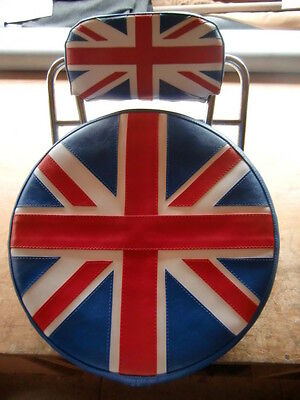 Union Jack Scooter Wheel/Back Pad Cover