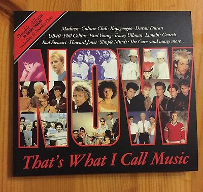 Now Thats What I Call Music 1 CD NOW1 2008 2CD set ANNIVERSARY ISSUE