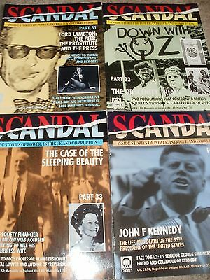 Scandal Magazines 4 Issues Part 31-34