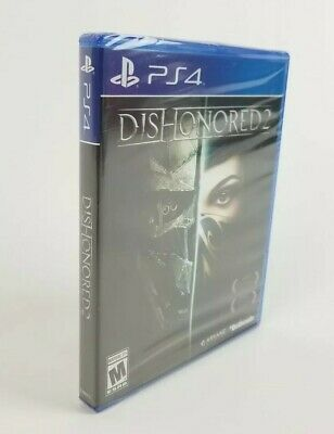 PS4 Dishonored 2 Playstation 4 (Pro Enhanced)  Brand New Sealed Video Game