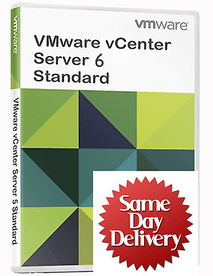 VMware vCenter Standard 5.5/6.7 License Key Unlimited CPUs ⭐ Fast Delivery⭐