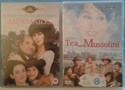 Mermaids / Tea With Mussolini Dvds (Cher)
