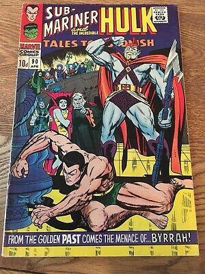 Silver Age Marvel Tales To Astonish 90 Incredible Hulk First 1st Abomination
