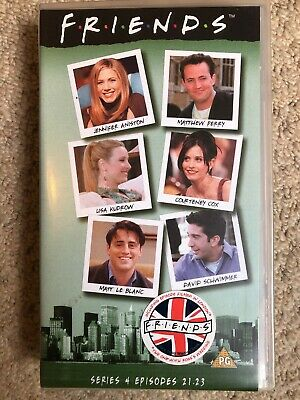 Friends - Series / Season 4 Episodes 21-23 VHS