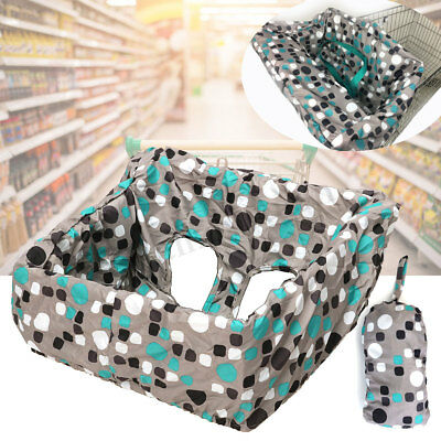 Baby Kid Shopping Seat Mat Cart Cover Trolley Cushion Pad High Chair