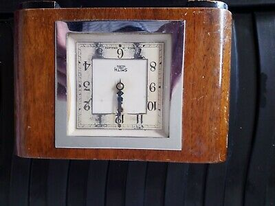 Smiths Sectric Art Deco Electric Mantel Clock Working