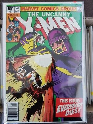 Uncanny X-men #142 NM/NM+ -  Days of Future past storyline - Newstand edition