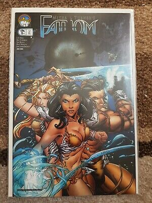 Fathom #9, VOL 2, VFN, (2006), First Print, Aspen Comics