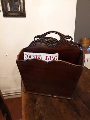 Edwardian Country House Newspaper Magazine Rack