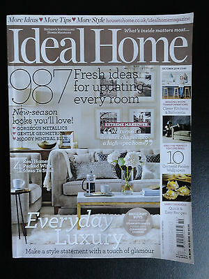 Ideal Home magazine October 2014