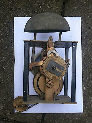 30hr single handed  c1730  LONGCASE  CLOCK   movement