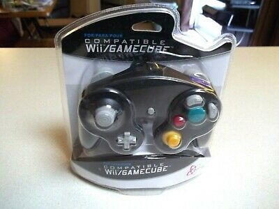 Brand New Controller for Nintendo GameCube or Wii -- BLACK by orbital