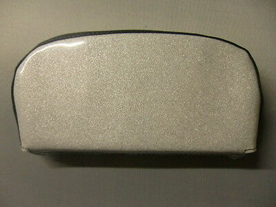 Silver Metalflake Scooter Back Rest Cover (Purse Style)