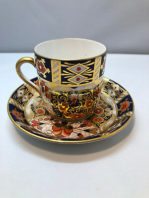 Antique Late 19th Century Pointons Imari Style Cup and Saucer