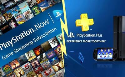 3 month Playstation Plus + 42 day PS Now ALL ACCOUNTS ( PS4 PS3 VITA ) NO CODE