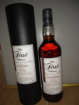 INCHGOWER First Editions 19Y 1995/2014 56,7% Single Cask Strength