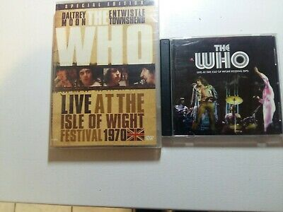 The Who Live at the Isle of Wight 1970 Dvd and Cd