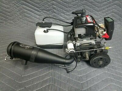 26CC RC BOAT Gas Engine Single Cylinder Water-Cooled 2-stroke Model