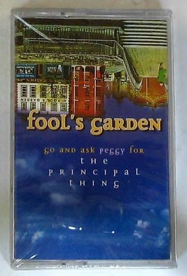 FOOL'S GARDEN - GO AND ASK PEGGY FOR THE PRINCIPAL THING Cassette Tape Sealed