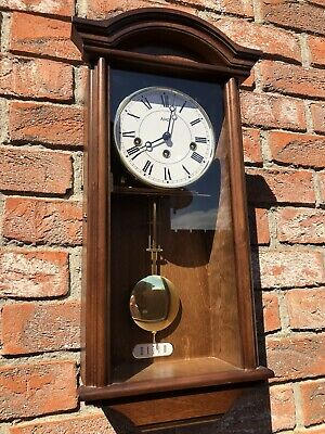 Superb AMS Westminster Chime Wall Clock Working Perfect