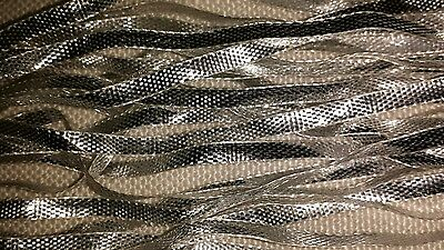 3mm Silver Metallic Ribbon 5m