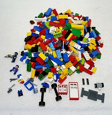 2 Lbs of Bulk Legos Cleaned Sanitized Bricks Figures And Assorted Pieces Lot