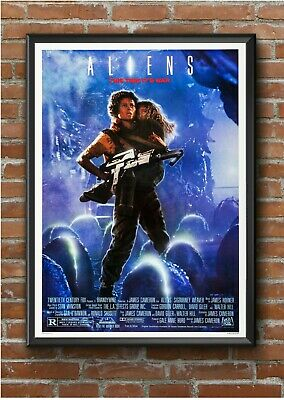 Aliens Classic 1980's Movie Film Poster Print Picture A3