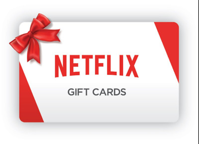 Netflix Gift Card [100$] Email Delivery 50% !!!!!