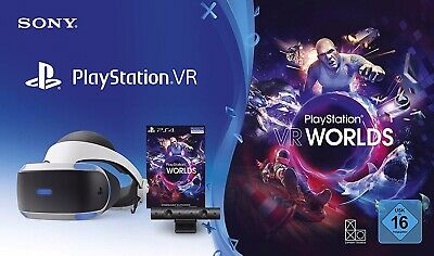 PS4 VR - PlayStation 4 Virtual Reality Brille + Camera - [neue Version]