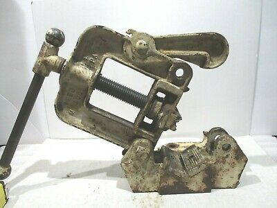 """Reed No 1 _Pipe Vise   1/8"""" to 2 ½"""" Bends 1/8"""" to ¾"""""""