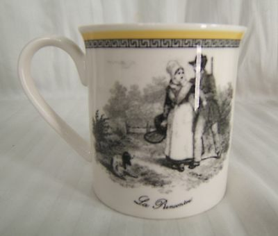 "NEW Villeroy & Boch Fine China AUDUN La Recontre 3 3/8"" MUG Germany Discontinued"