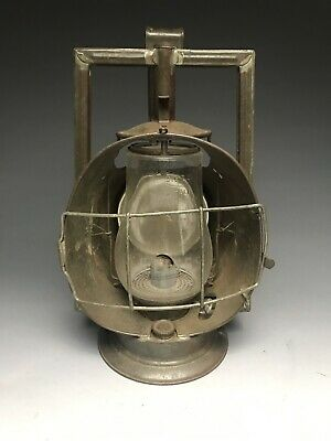 Antique NYCRR New York Central Railroad Inspector Lamp Lantern Excellent!