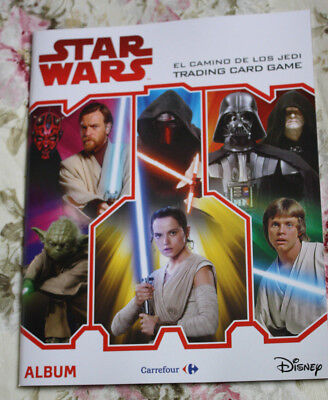 Album Trading Cards Los Ultimos Jedi Topps Carrefour