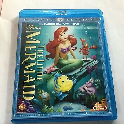 Disney Diamond Edition THE LITTLE MERMAID animated BLU RAY
