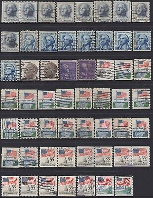USA No.20 AND 21  COLLECTION OF (69) STAMPS USED.