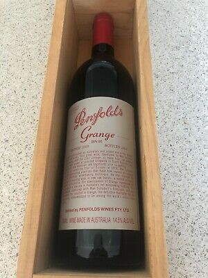 1998 Penfolds Grange Hermitage Boxed Rated 99/100, Perfect 21st Birthday Gift