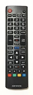 New USBRMT Remote AKB73975702 For LG LCD LED Smart TV AKB74475401 AGF76631042